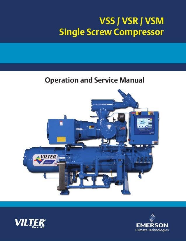 manual de compresor vilter vsr vss vsm rh slideshare net vilter reciprocating compressor manual vilter compressor parts manual