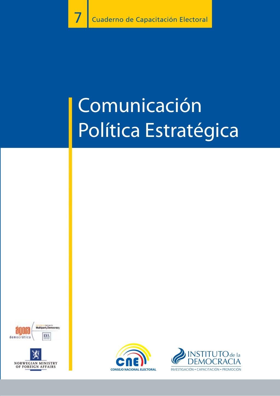 Manual de Comunicación Política Estratégica