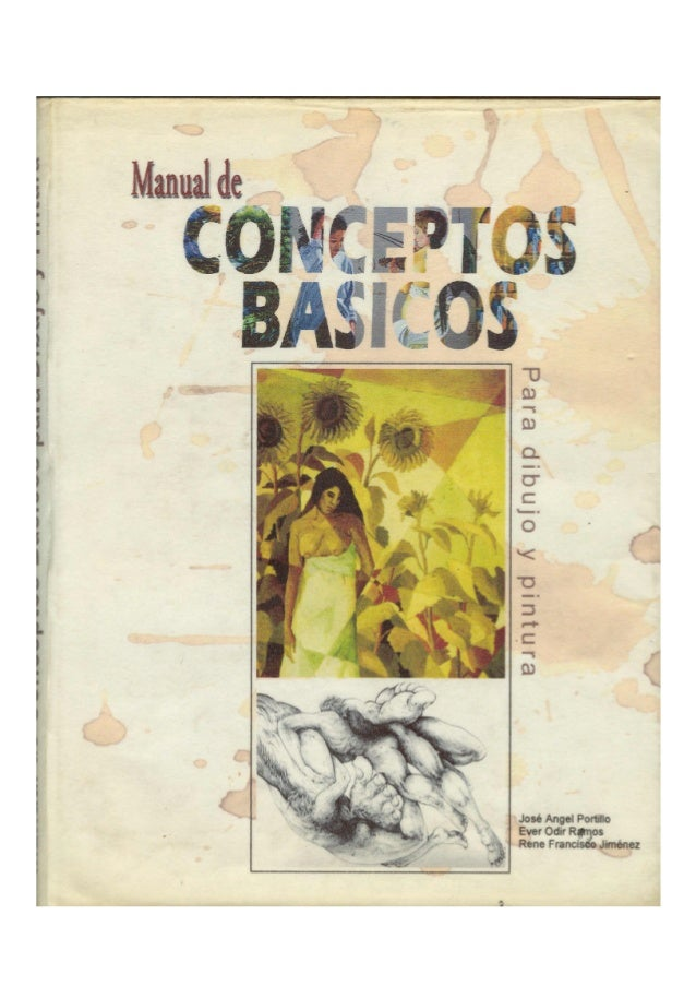 Manual de conceptos básicos para dibujo y pintura
