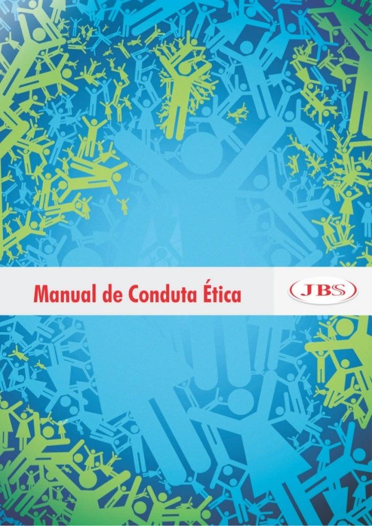 JBS: Manual de conduta ética