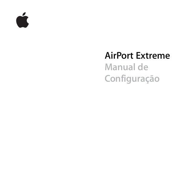 AirPort Extreme Manual de Configuração