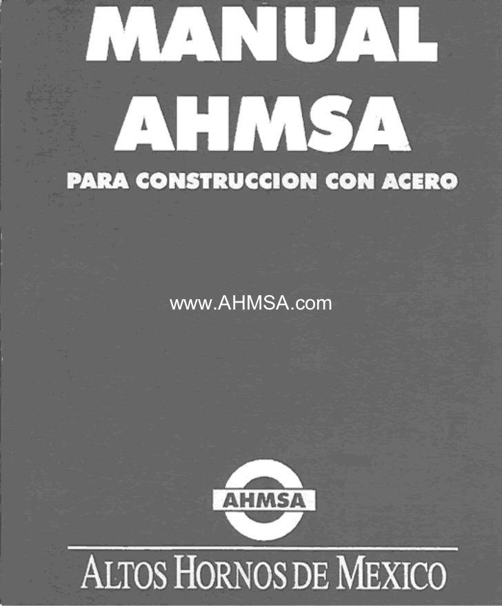 Manual de construccion ahmsa capitulo07 for Manual de construccion