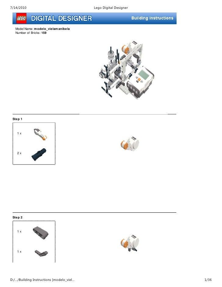 Manual de construcción del prototipo III