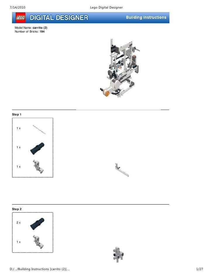 Manual De Construccion Prototipo I