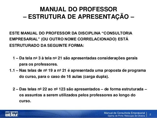 Manual de Consultoria Slide 2