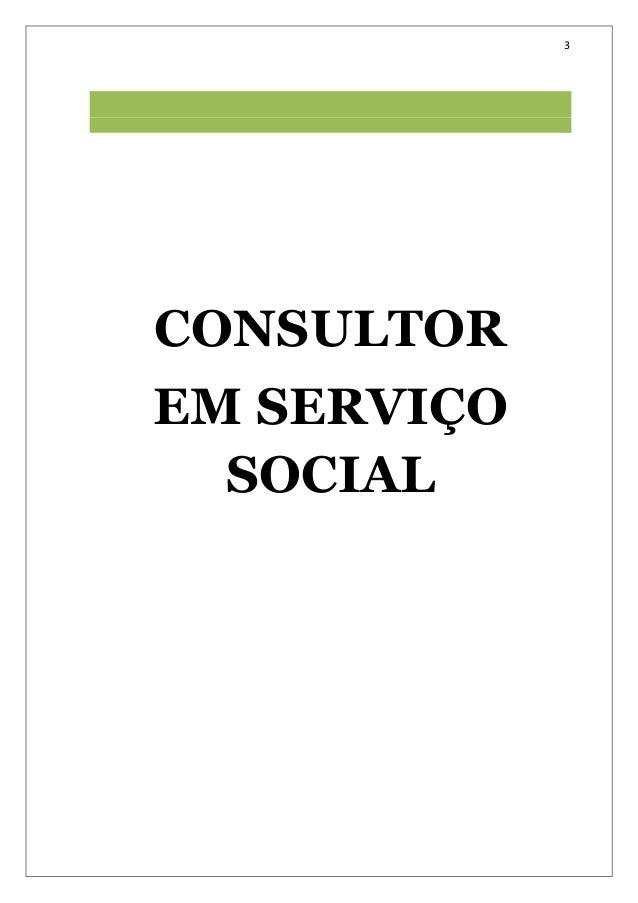 Manual do Consultor em Serviço Social