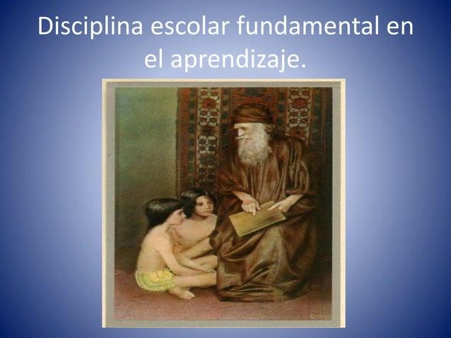 Las normas en el aula , enseñadas con amor y respeto , producen estudiantes con calidad.
