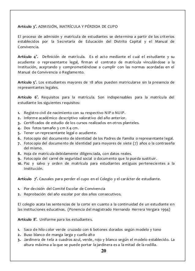 MANUAL DE CONVIVENCIA COLEGIO REINO DE HOLANDA 2017