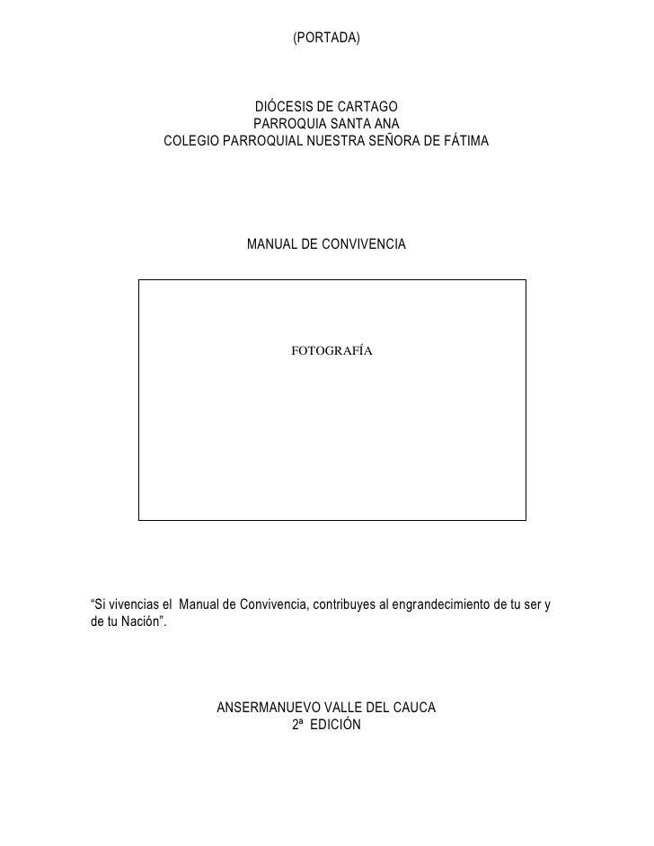(PORTADA)                         DIÓCESIS DE CARTAGO                         PARROQUIA SANTA ANA             COLEGIO PARR...