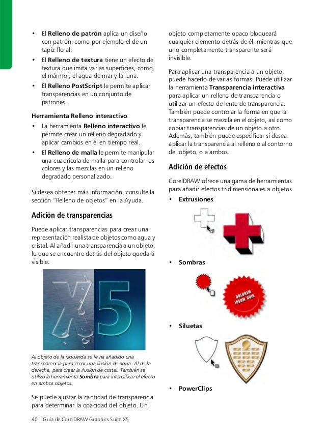 Manual De Herramientas De Corel Draw X5
