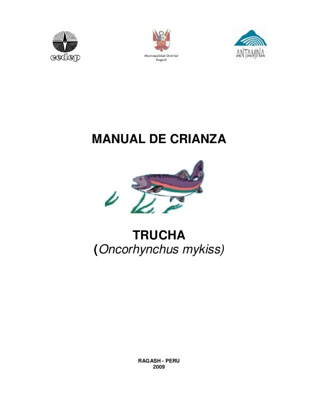 manual de crianza truchas