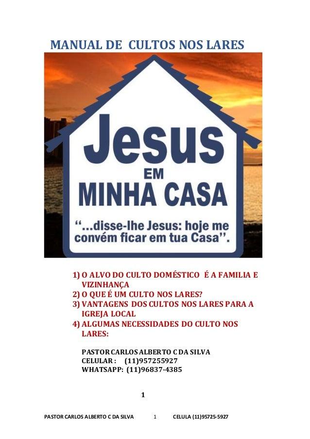 Manual De Culto Nas Casa