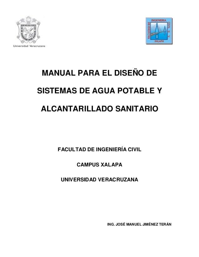 Manual de agua potable, alcantarillado y saneamiento (mapas). Pdf.