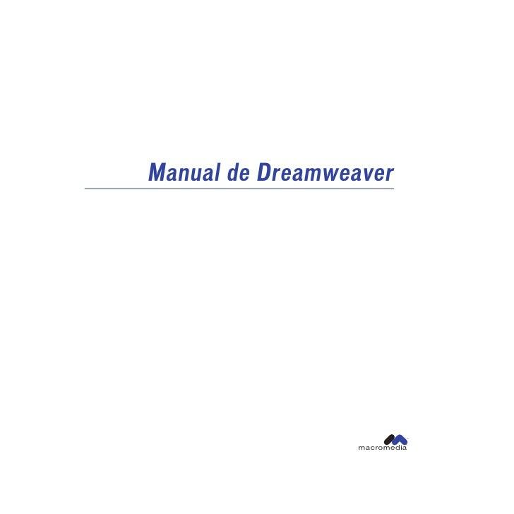Manual de Dreamweaver                          ™                 macromedia                          ®
