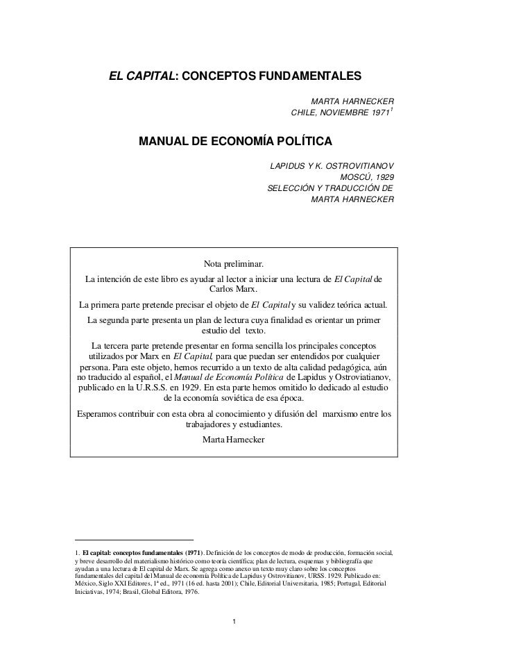 EL CAPITAL: CONCEPTOS FUNDAMENTALES                                                                                    MAR...