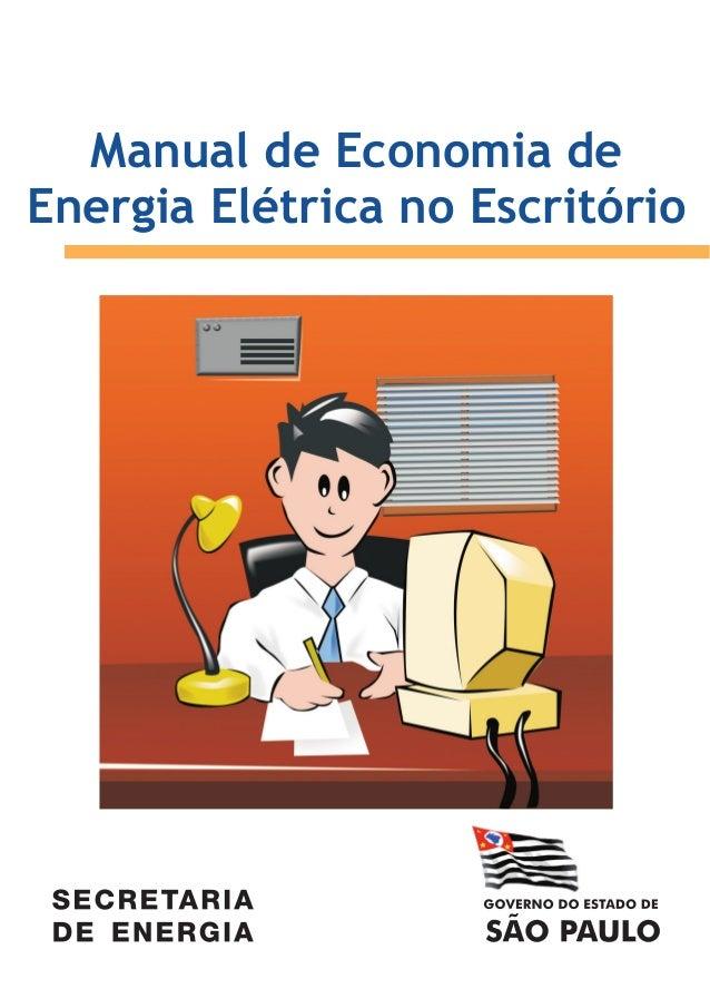 Manual de Economia de Energia Elétrica no Escritório