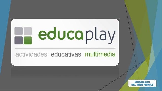 Educaplay es una plataforma que permite crear actividades educativas multimedia con un resultado atractivo y profesional, ...