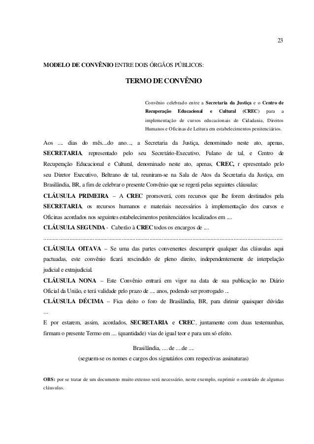 Manual de elabora o de documentos for Convenio oficinas