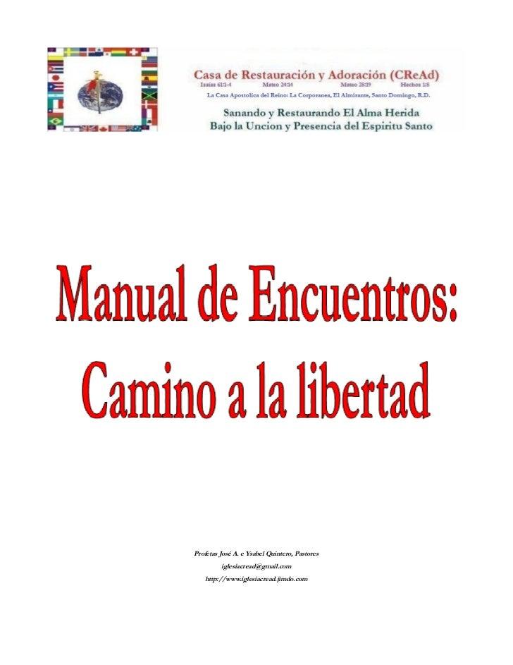 Manual de ministracion para encuentros for Manual de viveros forestales pdf