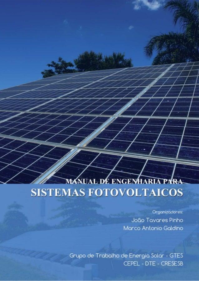 Manual de Engenharia para Sistemas Fotovoltaicos