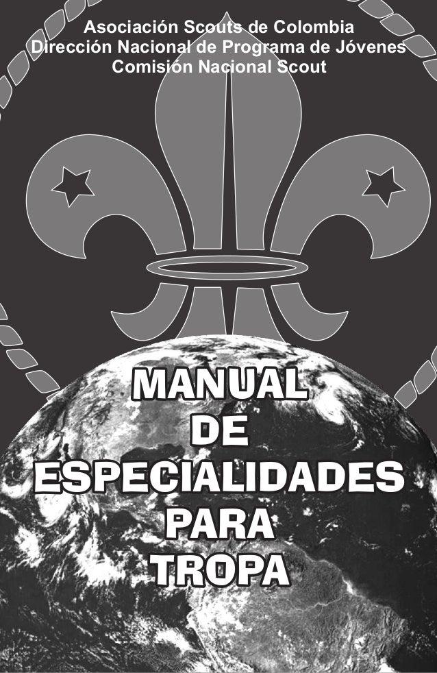 Ya está disponible el manual de la rama scouts para descargar!