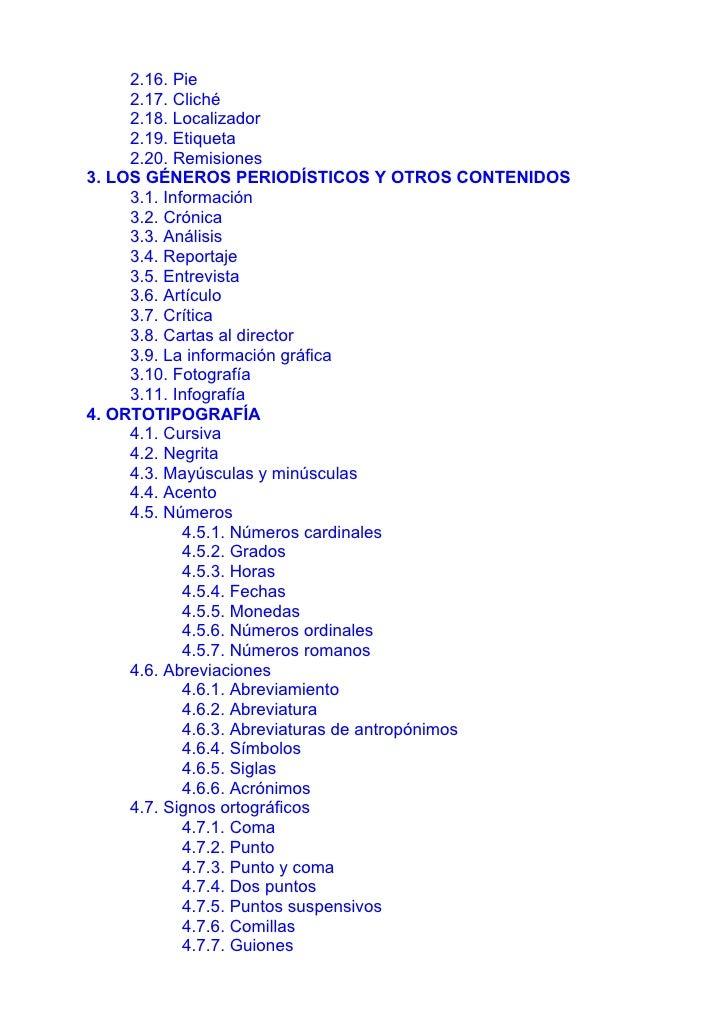 Libro de Estilo de La Voz de Galicia