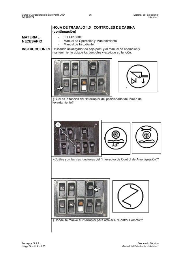 Manual de estudiante del r1300 g y r1600g