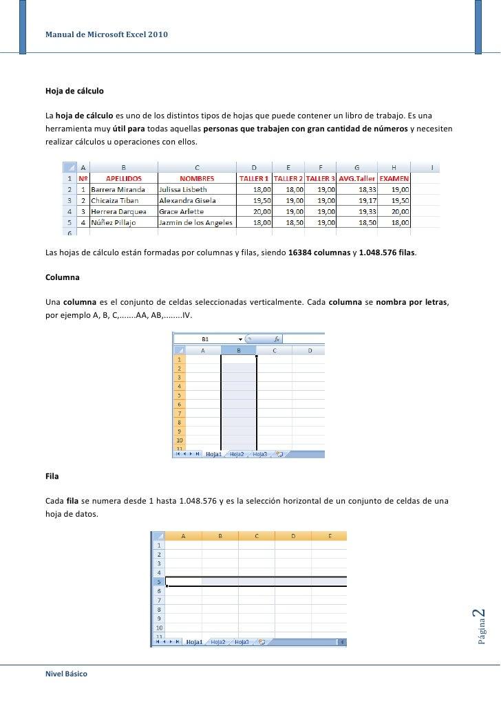 manual de excel 2010 manual de microsoft excel 2003 2007 pdf manual de microsoft excel 2010 pdf en español