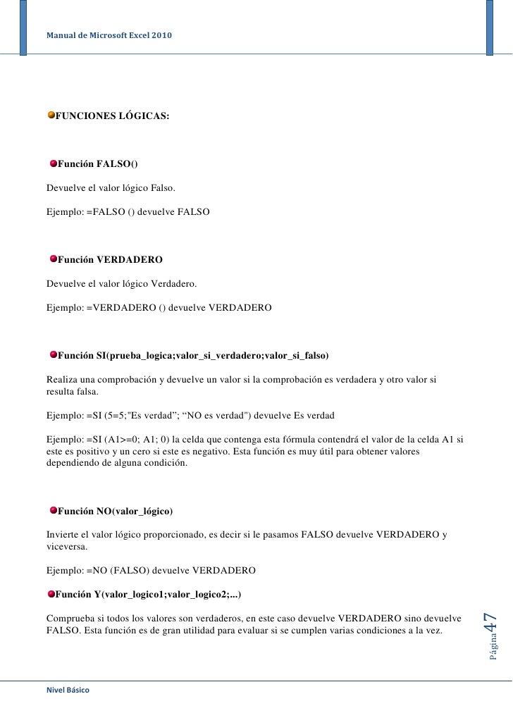 descargar manual excel 2010 gratis espanol pdf