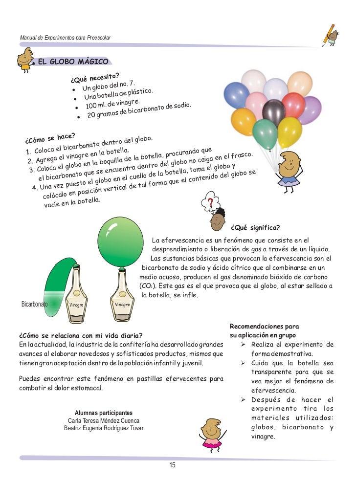 Manual De Experimentos Preescolar - Experimentos-para-nios-con-globos