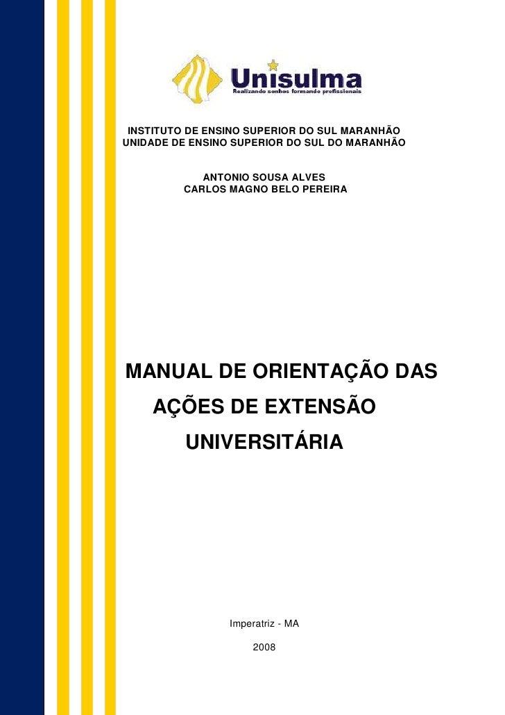 INSTITUTO DE ENSINO SUPERIOR DO SUL MARANHÃOUNIDADE DE ENSINO SUPERIOR DO SUL DO MARANHÃO            ANTONIO SOUSA ALVES  ...