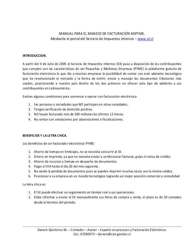Darwin Quinteros M. – Contador – Asesor – Experto en procesos y Facturación Electrónica. Cel.: 67280973 – darwin@con-gesti...