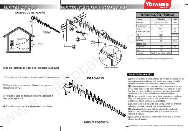 Manual do Usuário do Kit Telefone Celular Rural Fixo de