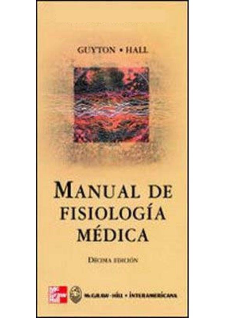 Manual de fisiologia medica pf med