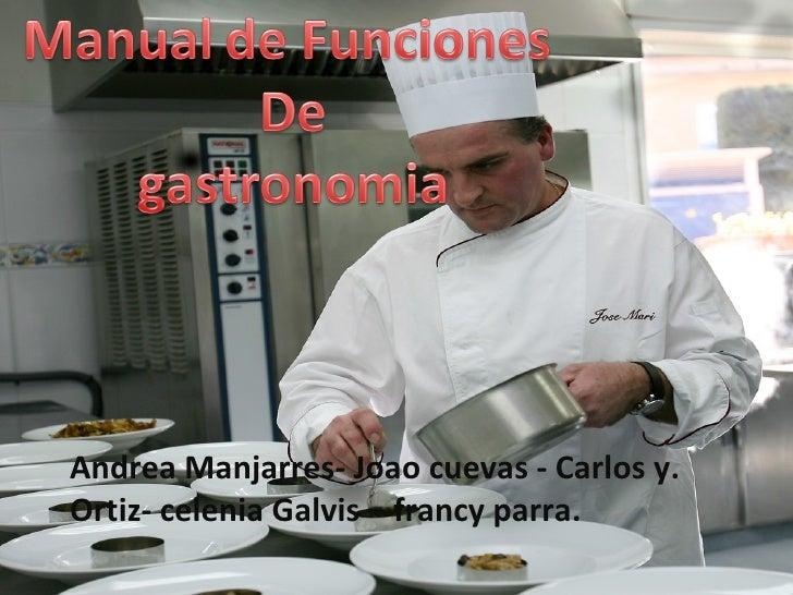 Andrea Manjarres- Joao cuevas - Carlos y. Ortiz- celenia Galvis – francy parra.