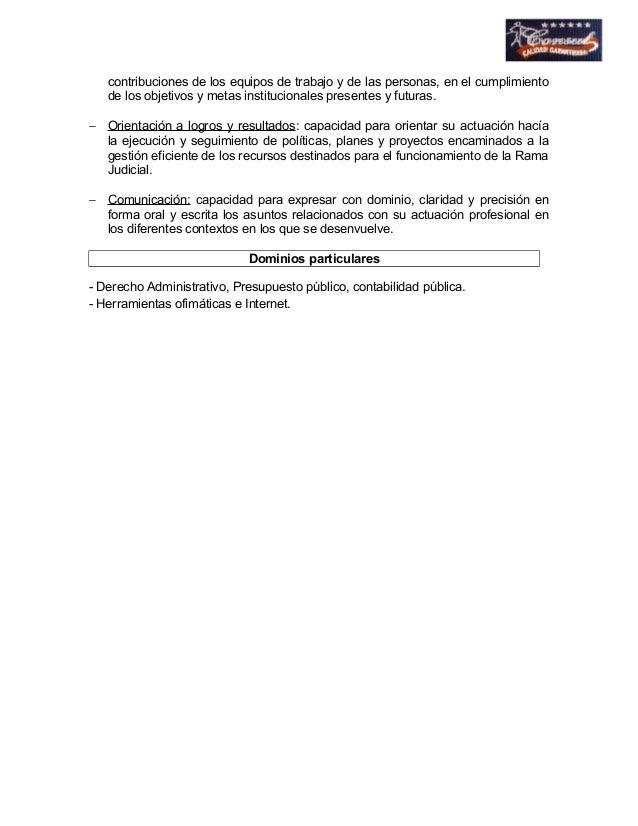 contribuciones de los equipos de trabajo y de las personas, en el cumplimiento  de los objetivos y metas institucionales p...