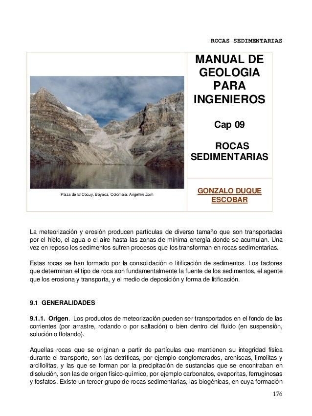 Manual de geologia ingenieros cap 09 rocas sedim