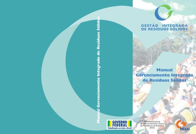 ManualGerenciamento Integradode Resíduos Sólidos