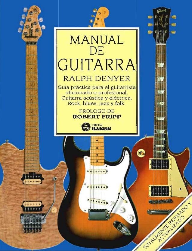 ralph denyer manual de guitarra pdf