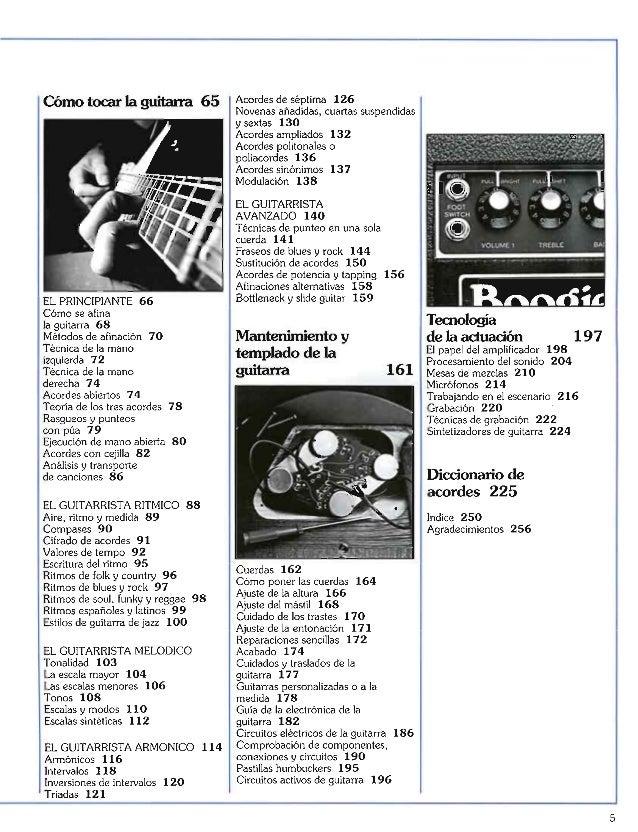 Manual de guitarra ralph denyer en español