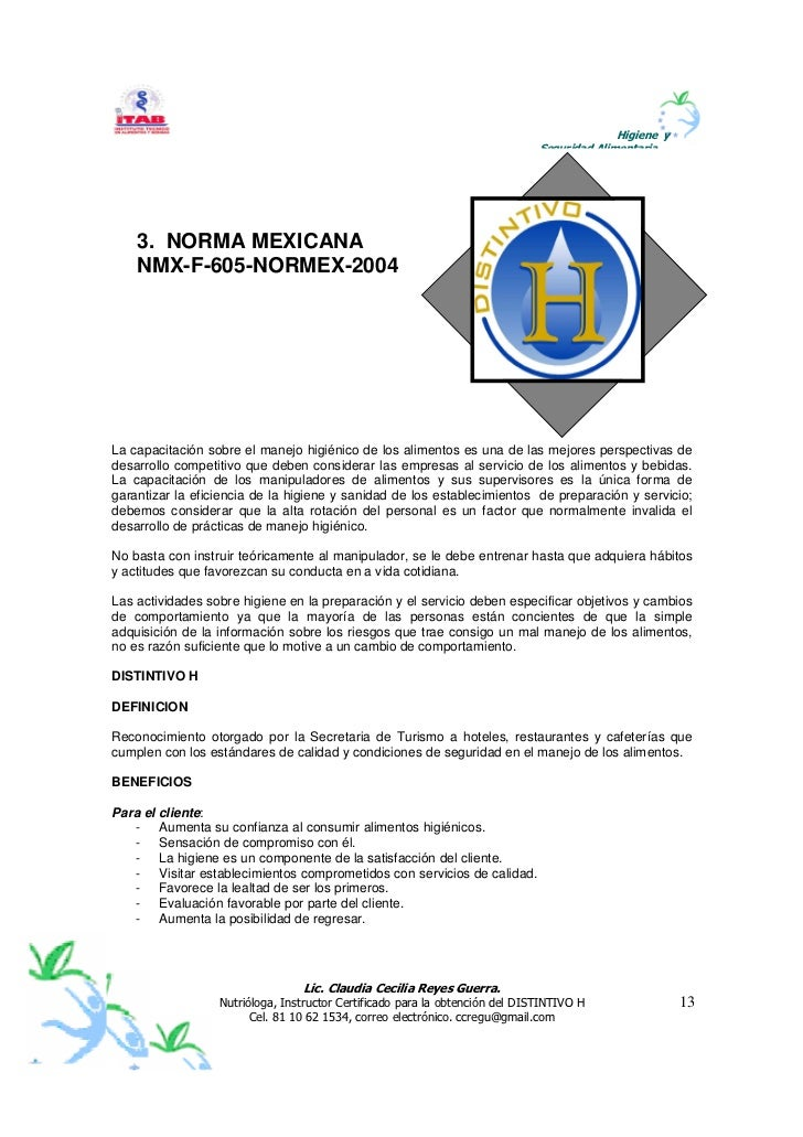 la nmx-f-605-normex-2004