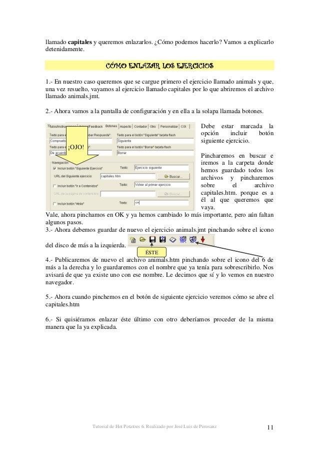 Tutorial de Hot Potatoes 6. Realizado por José Luis de Perosanz 12 / 0 # Sin duda la herramienta JQuiz es la más potente d...