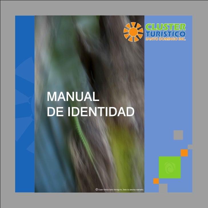 Manual de identidad cluster santo domingo inc