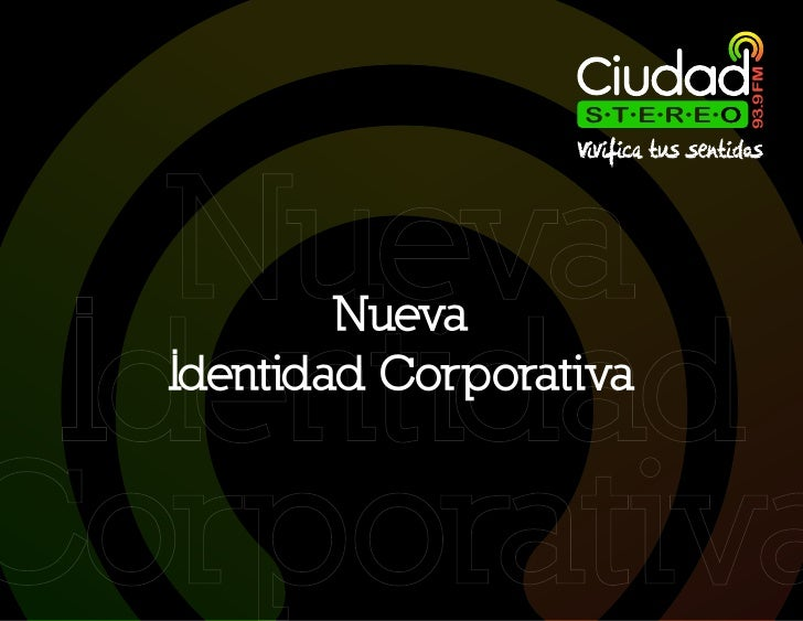Manual de Identidad Corporativa 93.9 FM Slide 2