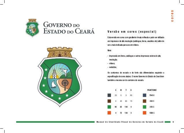 Manual De Identidade Visual Governo Camilo Santana Seduc Ce