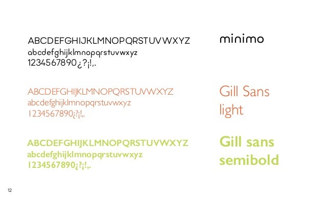 Gill Sans SemiBold Font - What Font Is