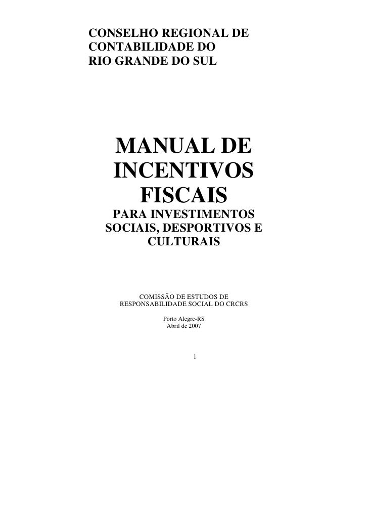 Manual de incentivos_fiscais