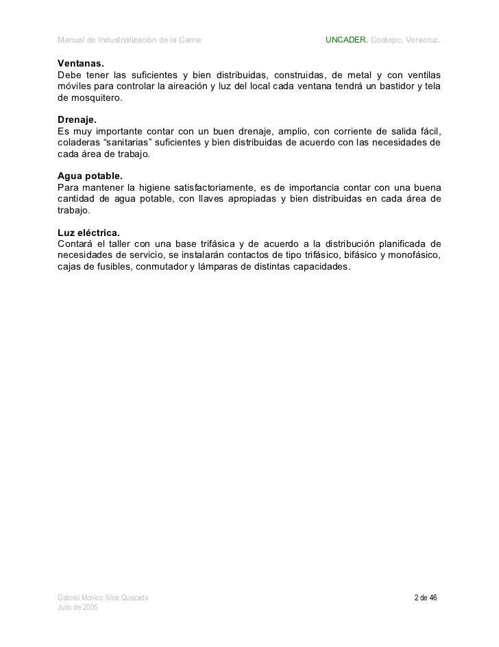 Manual de industrialización de la carne Slide 2