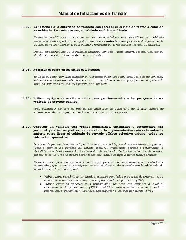 9ef4dc298 Manual de infracciones 0
