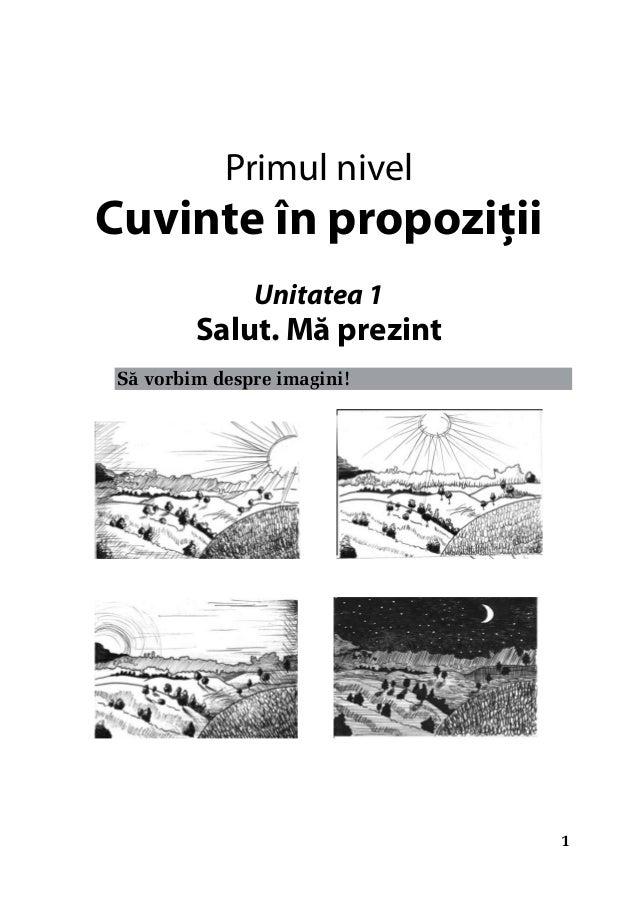 Manual de initiere in limba romana si de orientare